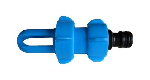 Wasserbett Füll- und Entleerungsadapter BLUE MAGIC mit Gardena-kompatiblem Schlauchanschluss