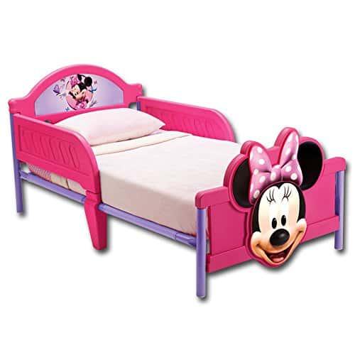 Kinderbett - Babybett - Jugendbett - 3D mit Motivauswahl (Minnie Mouse)