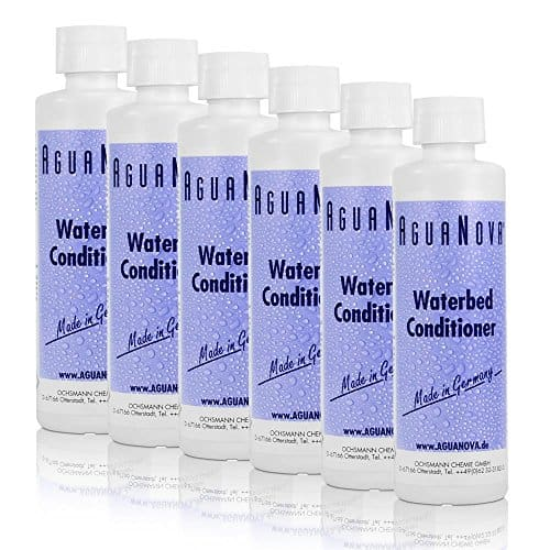6 x 250ml AguaNova Wasserbett Konditionierer Conditioner
