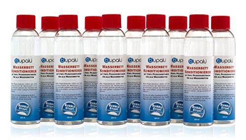 10 x 250 ml blupalu Wasserbett Konditionierer - Marken Wasserbetten Conditioner made in Germany