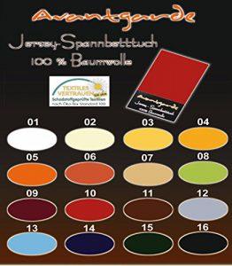 Wasserbetten Jersey Spannbettlaken SPANNBETTTUCH AVANTGARDE 100% Baumwolle, WASSERBETT Bettlaken 180x200 bis 200x220
