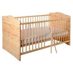 Kinderbett Jugendbett Kuba VOLLMASSIV 140x70 cm